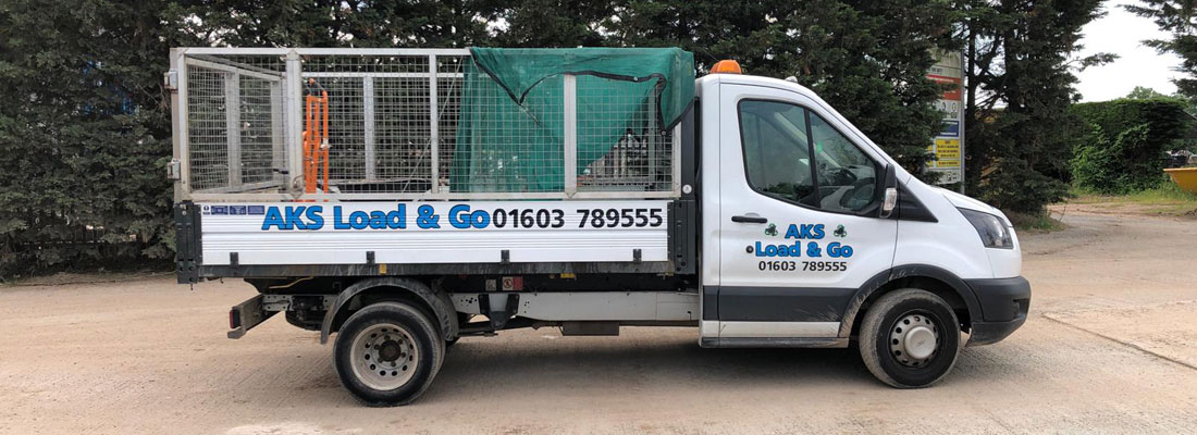 Load and go waste removal in Norwich and Norfolk